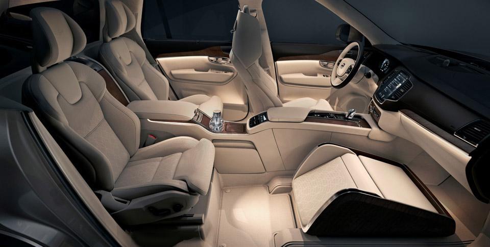 Individuelle Zweite Sitzreihe Und Mehr Platz Fur Reihe Drei Volvo